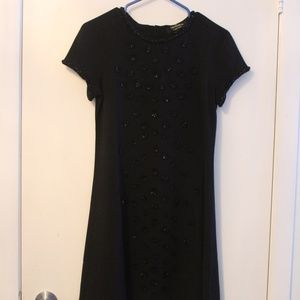 Juicy Couture Dresses - Juicy Black Shift Dress with Sequins